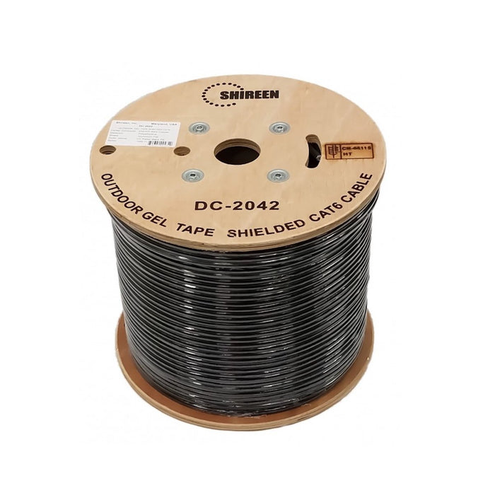 Shireen DC-2042 Outdoor CAT6 Shielded with Dry Gel Tape FTP Cable