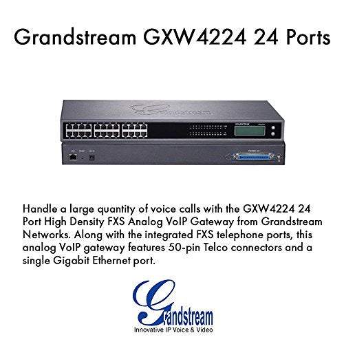 Grandstream GXW4224 24 Port FXS Gateway
