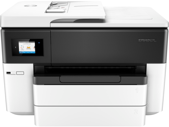 HP OfficeJet Pro 7740 Wide Format, All-in-One Printer, G5J38A#AKY - We Love tec