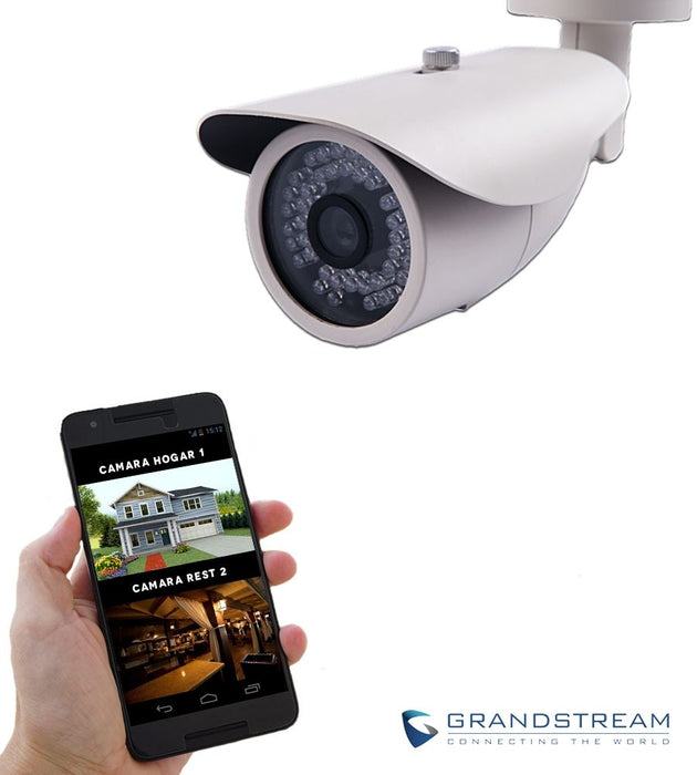 Grandstream GXV3672_FHD IP Surveillance Camera, Outdoor Day & Night with Infrared, 3.1 MP - We Love tec