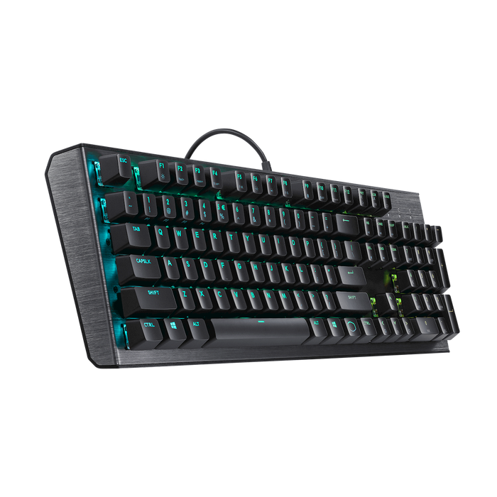Cooler Master (KB_CK-550-GKGM1-US) MASTERKEYS CK550 RGB Keyboard (Gateron/Blue Switch/US) - We Love tec