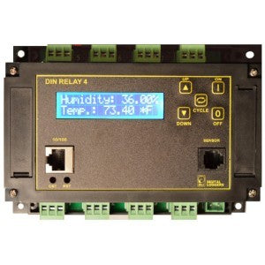 Digital Loggers DIN4 Web Controlled DIN Relay - We Love tec