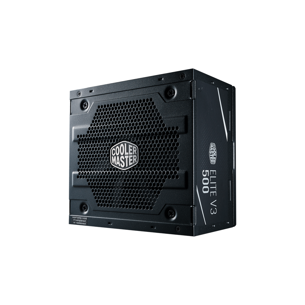 COOLER MASTER (PS_MPW-5001-ACAAN1-WO) 500W ELITE V3 Full Range, No Cable - We Love tec