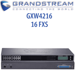 Grandstream GXW4216 VoIP Gateway with 16 elephone FXS ports - We Love tec