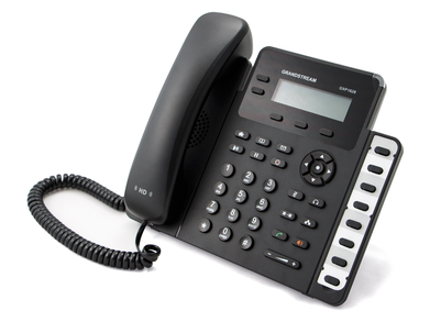 Grandstream GXP1630 IP Phone, VoIP Phone with PoE for Small to Medium Business, 3 Lines - We Love tec