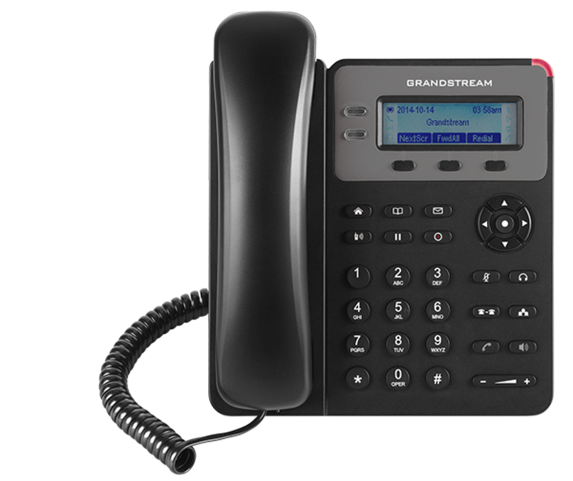 Grandstream GXP1610 Single-Line IP Phone, VoIP Phone with PoE for Small Business - We Love tec