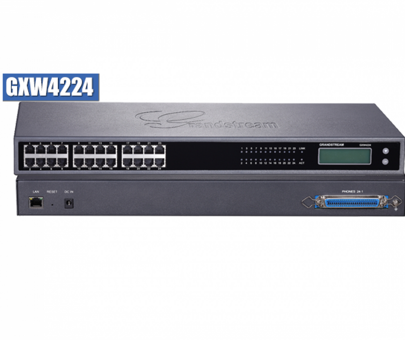 Grandstream GXW4224 VoIP Gateway with 24 Telephone FXS Ports - We Love tec