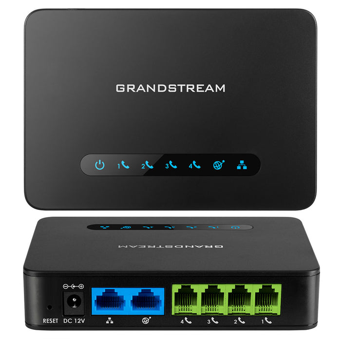 Grandstream HT814 Analog Telephone Adapter Gateway (ATA) with 4 FXS Ports, for VoIP Phone Networks - We Love tec