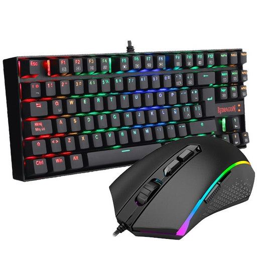 Redragon K552RGB + M607, 2 in 1 Combo, Gaming Mouse and Keyboard, English - We Love tec