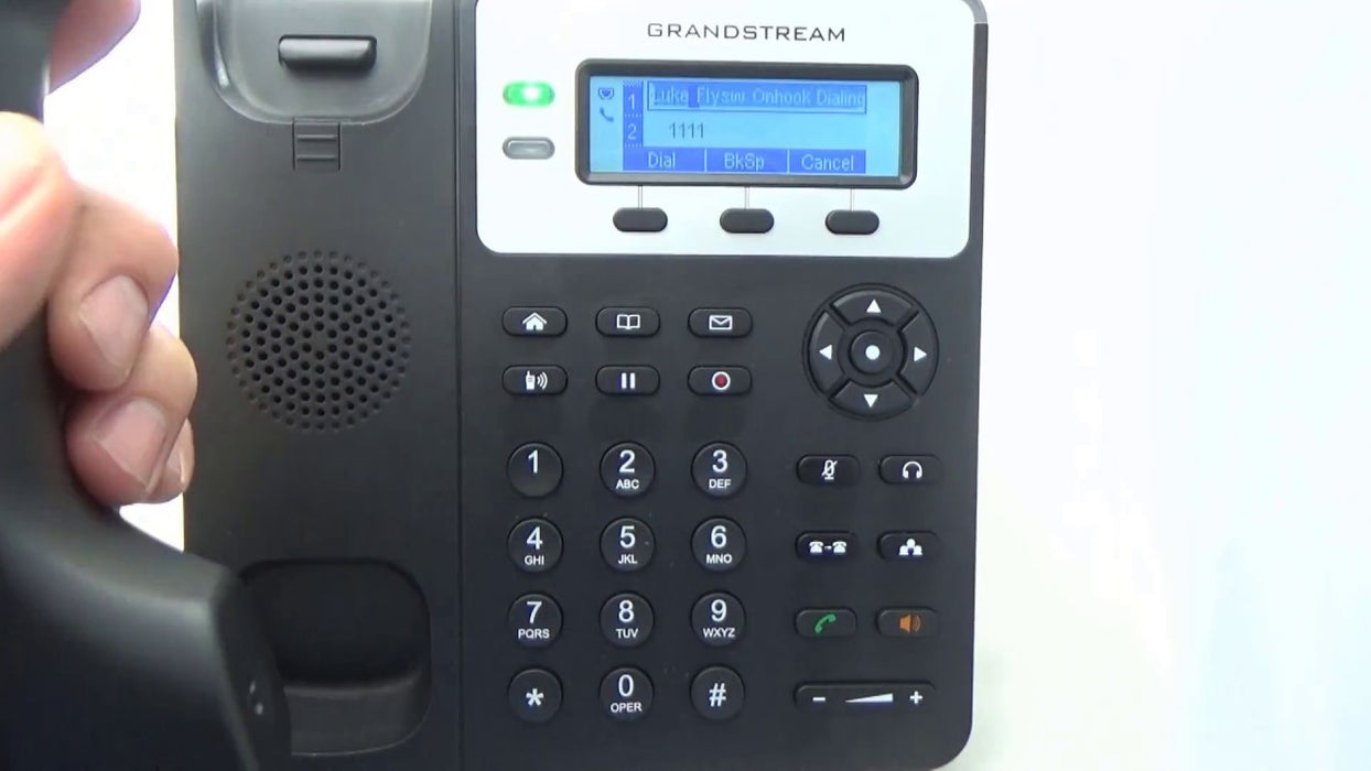 Grandstream GXP1625 IP Phone, VoIP Phone with PoE for Small to Medium Business, 2 Lines - Free Shipping - We Love tec