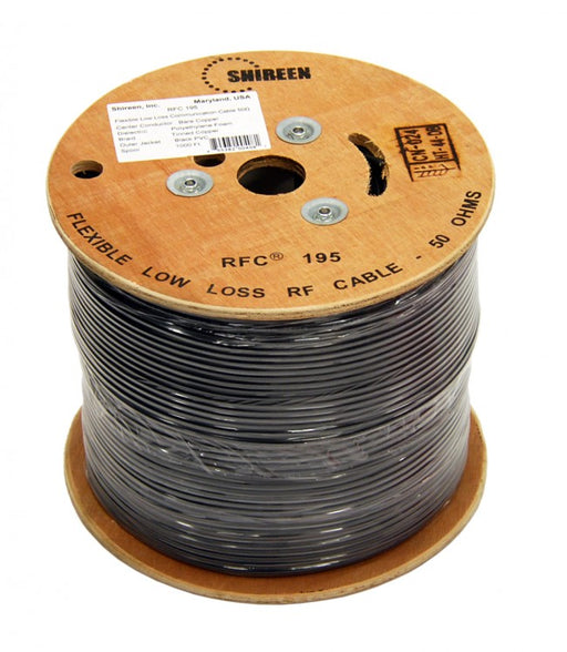 Shireen RFC195-1000, LMR195 1000ft Cable Spool - We Love tec
