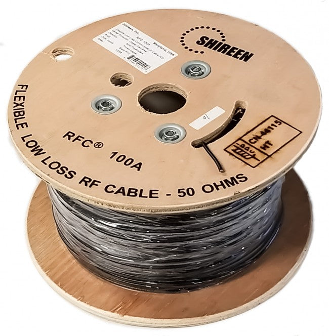 Shireen RFC100A-1000, LMR100A EQ 1000ft Cable Spool - We Love tec