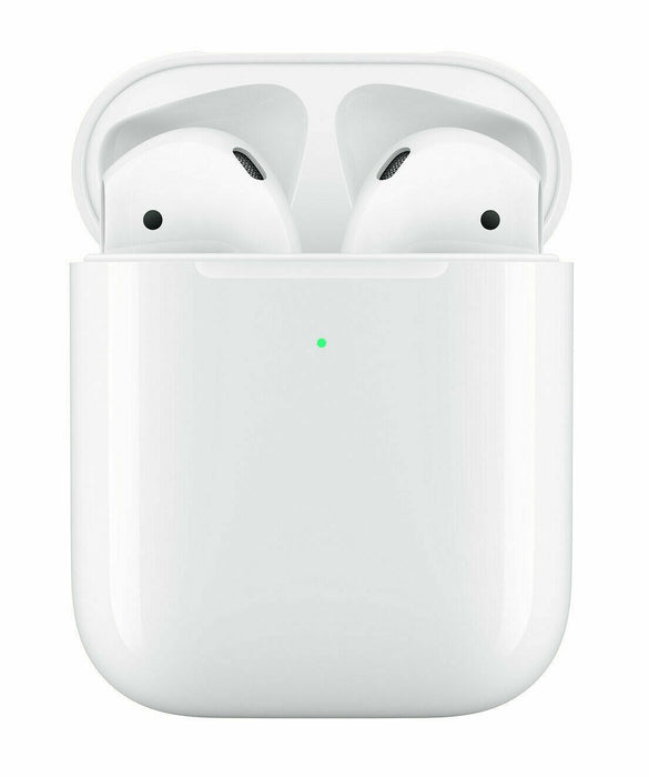 Apple AirPods 2nd Generation with Wireless Charging Case - White (MRXJ2AM/A) - Manufacturer refurbished - We Love tec