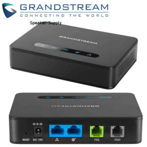 Grandstream HT813 Analog Telephone Adapter Gateway (ATA) with 1 FXS Port and 1 FXO Port, for VoIP Phone Networks - We Love tec