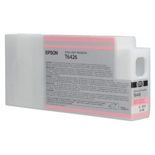 EPSON T642600 Vivid Light Magenta UltraChrome HDR Ink Cartridge for Stylus Pro 7900/9900, 150ml - We Love tec