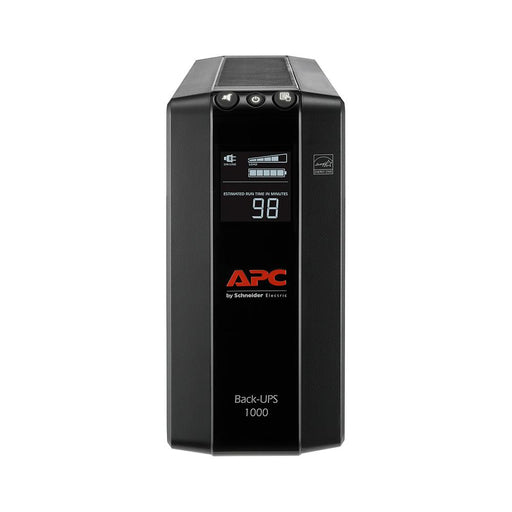 APC BX1000M UPS Battery Backup & Surge Protector with AVR, 1000VA, APC Back-UPS Pro - We Love tec
