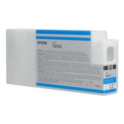 EPSON T642200 Cyan UltraChrome HDR Ink Cartridge for Stylus Pro 7700/7900/9700/9900, 150ml - We Love tec