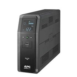 APC BR1100M2-LM Back UPS PRO BR 1100VA, 10 Outlets, 2 USB Charging Ports, AVR, LCD interface, LAM - We Love tec