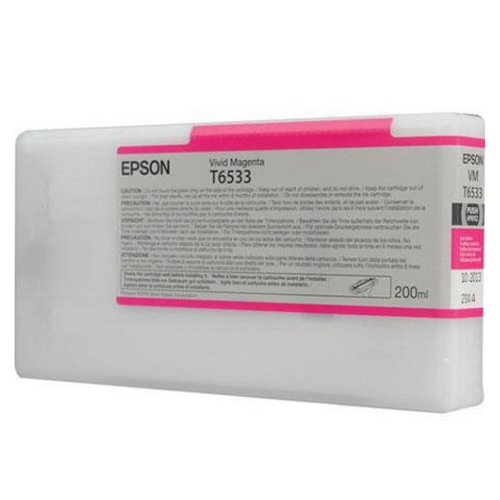 EPSON T653300 Vivid Magenta Ink Cartridge for Stylus Pro 4900, 200ml - We Love tec