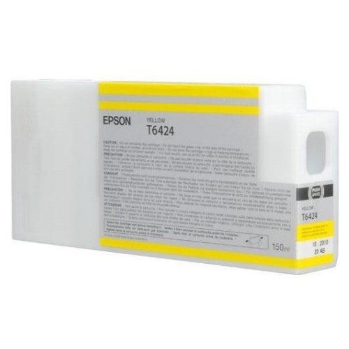 EPSON T642400 Yellow UltraChrome HDR Ink Cartridge for Stylus Pro 7700/7900/9700/9900, 150ml - We Love tec