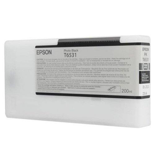 EPSON T653100 Photo Black Ink Cartridge for Stylus Pro 4900, 200ml - We Love tec