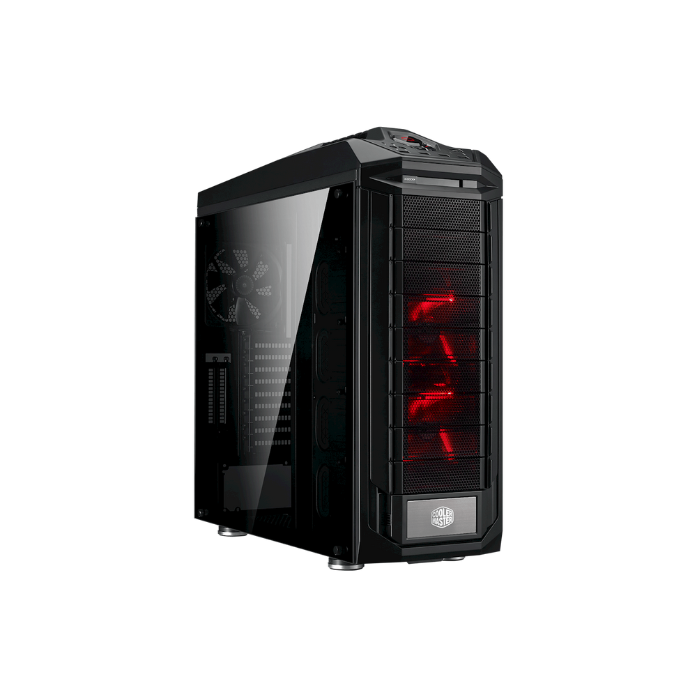Cooler Master (CA_SGC-5000-KWN2) TROOPER SE Full-Tower, TG F-120MMX2 Red - We Love tec