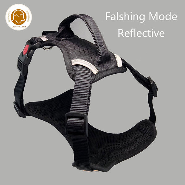 Reflective Comfort Harness - Dogs&CatsShop