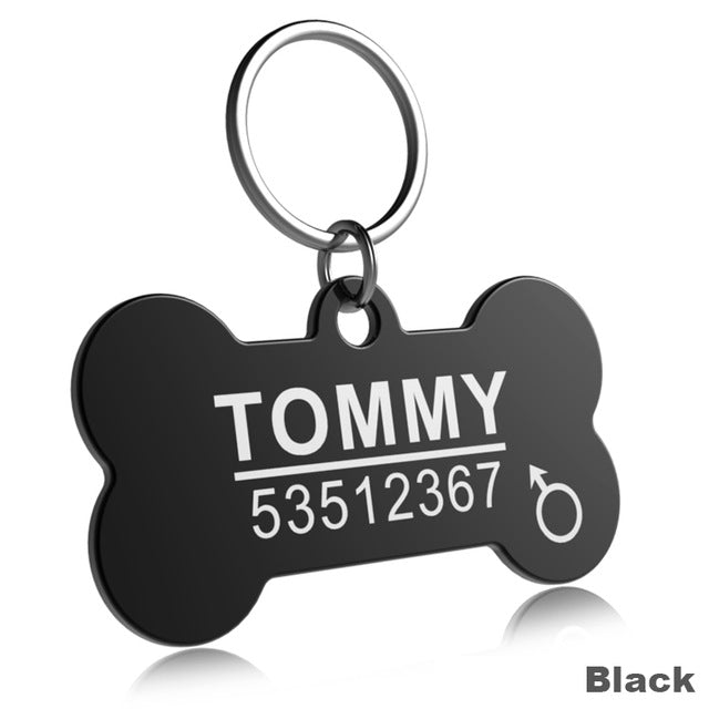 Customized Pet ID Plate - Dogs&CatsShop