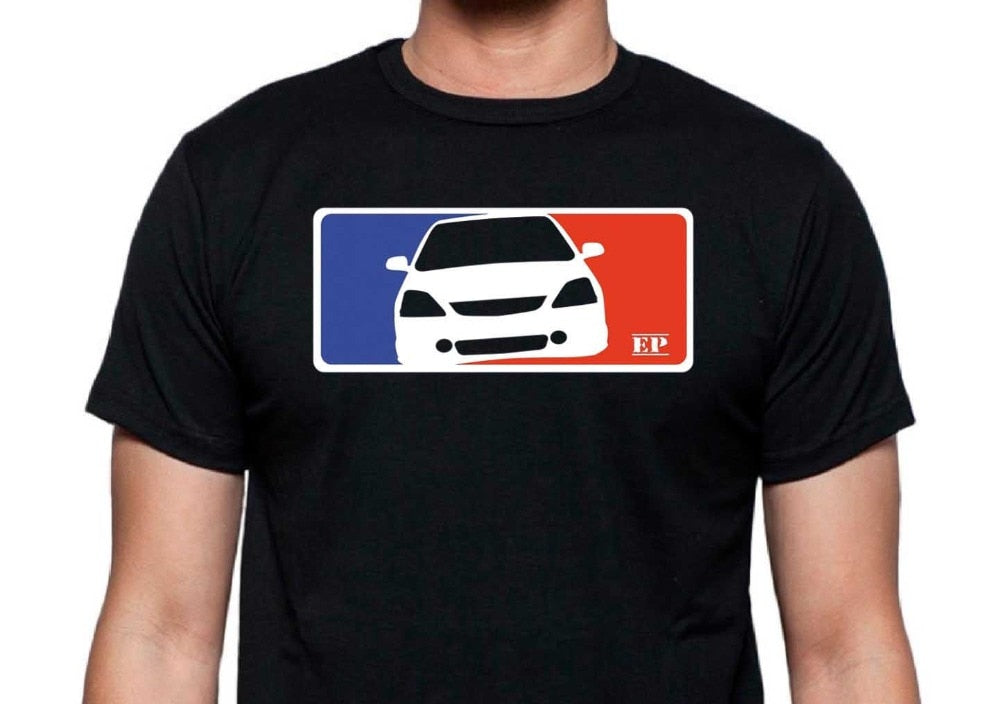 2018 Hot Sale Classic Japanese car fans CIVIC EP T-Shirt MLB-Style TypeR i-VTEC DOHC JDM Tee shirt - sweet-casa.com