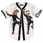 3D Dancing Hiphop Brother Mlb Baseball Jersey Shirts Mens Casual Open T-Shirt Tee Summer Short Sleeve Top - sweet-casa.com