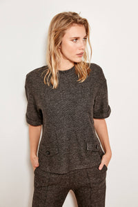 Trendyol Anthracite Knit Tops Advanced Cell TCLAW19XM0101 - sweet-casa.com