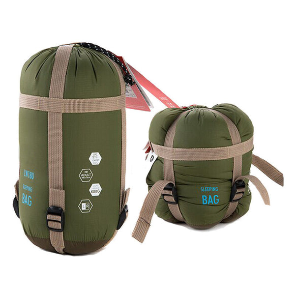 1pc 190cm x 75cm Outdoor Envelope Sleeping Bag Camping Travel Hiking Multifunction 4 colors# - sweet-casa.com
