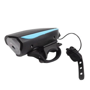 1PC light for bicycle accessories USB Rechargeable Speaker Cycling Bicycle Light Riding Oversized Vocal Headlights - sweet-casa.com