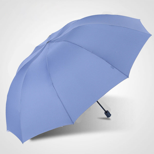 152cm Big top quality umbrella men rain woman windproof large paraguas male Women Sun 3 floding big umbrella outdoor parapluie - sweet-casa.com