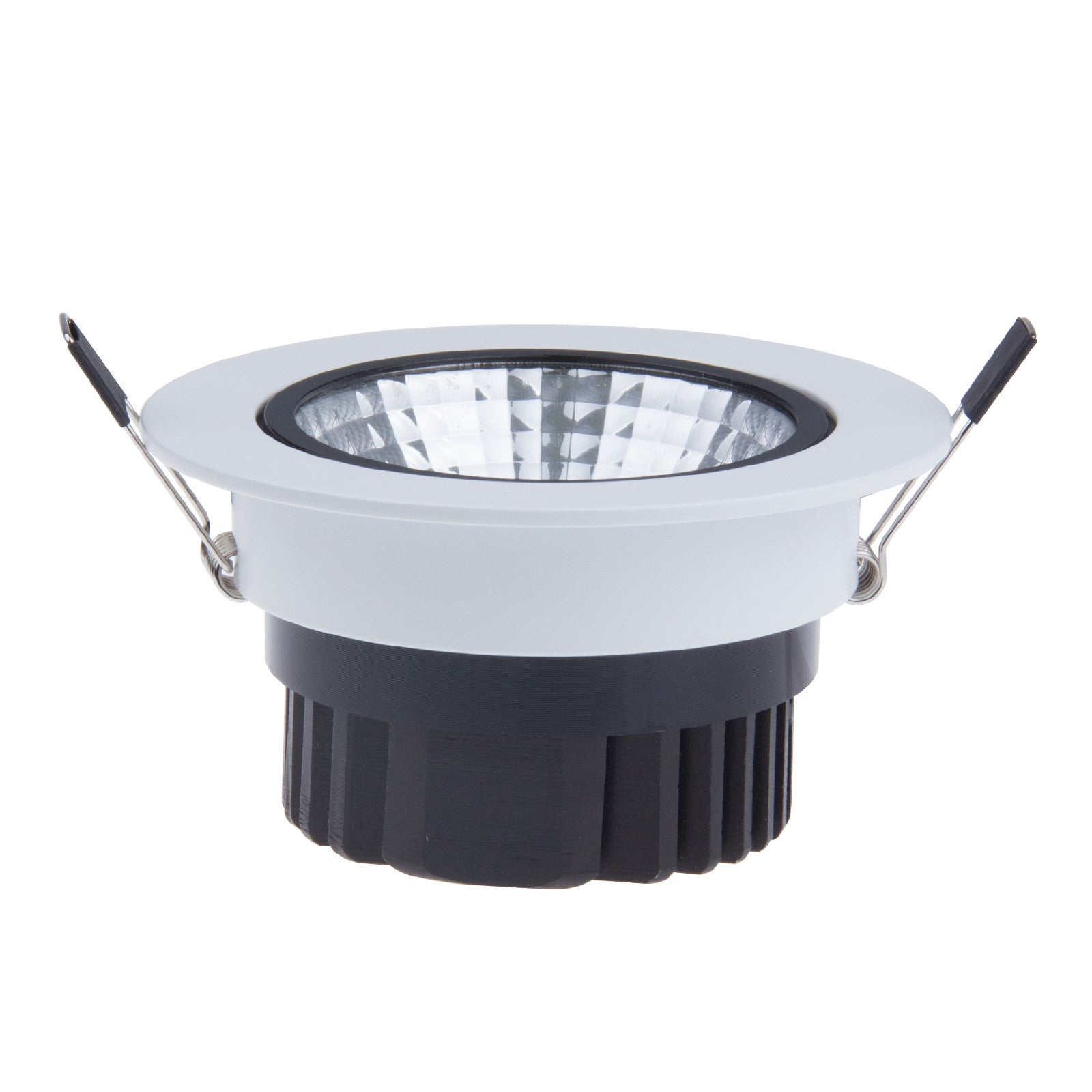 12W DimmableLED COB Ceiling Light Recessed Spotlight Downlight Warm White AC 100-245V - sweet-casa.com