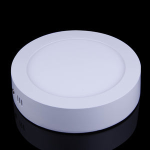 15W Surface Mounted Round Shape LED Panel Light Warm White Lamp Downlight AC 85-265V - sweet-casa.com