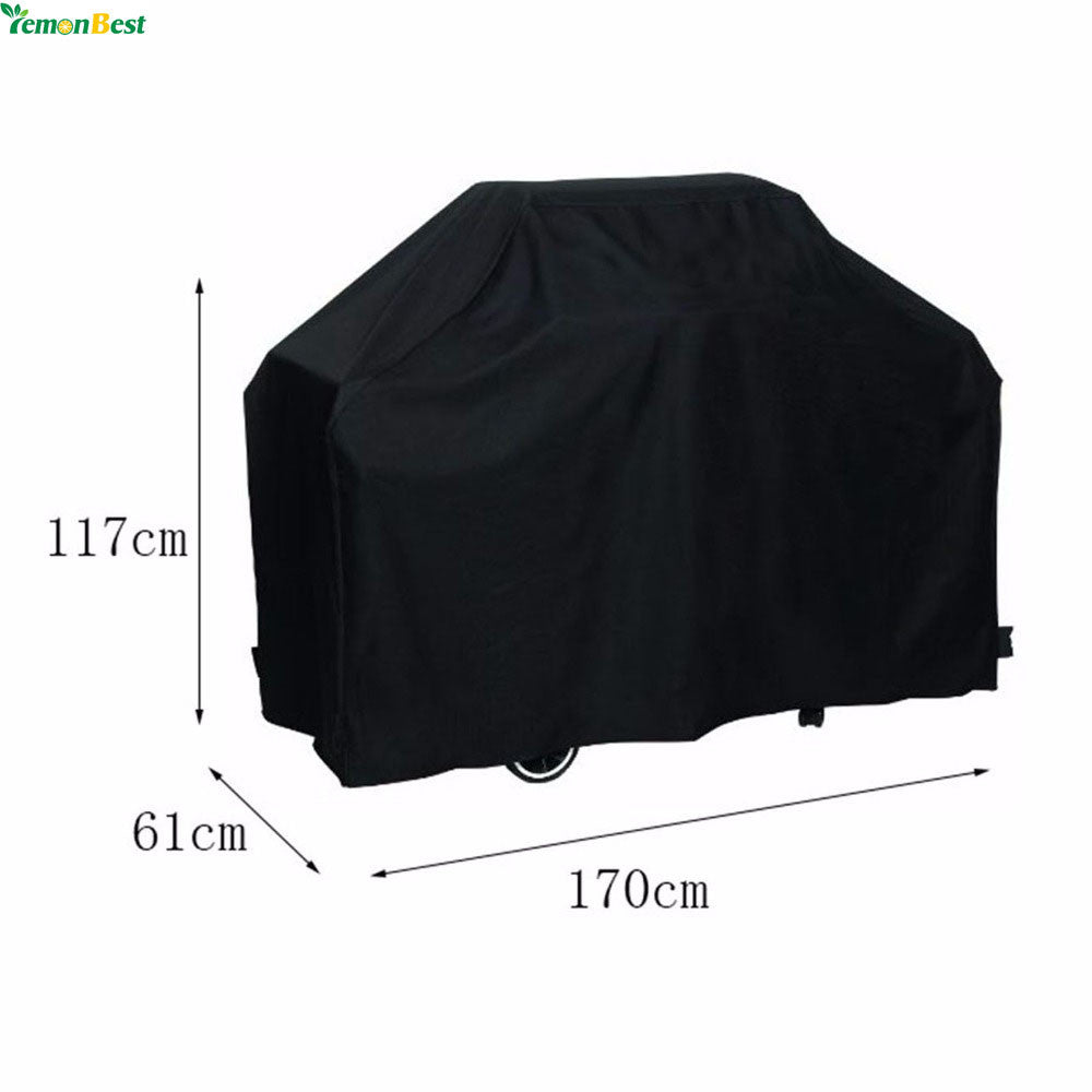 170*61*117CM Large Outdoor Waterproof BBQ Cover Garden Gas Charcoal Electric Barbeque Grill Protective Cover - sweet-casa.com