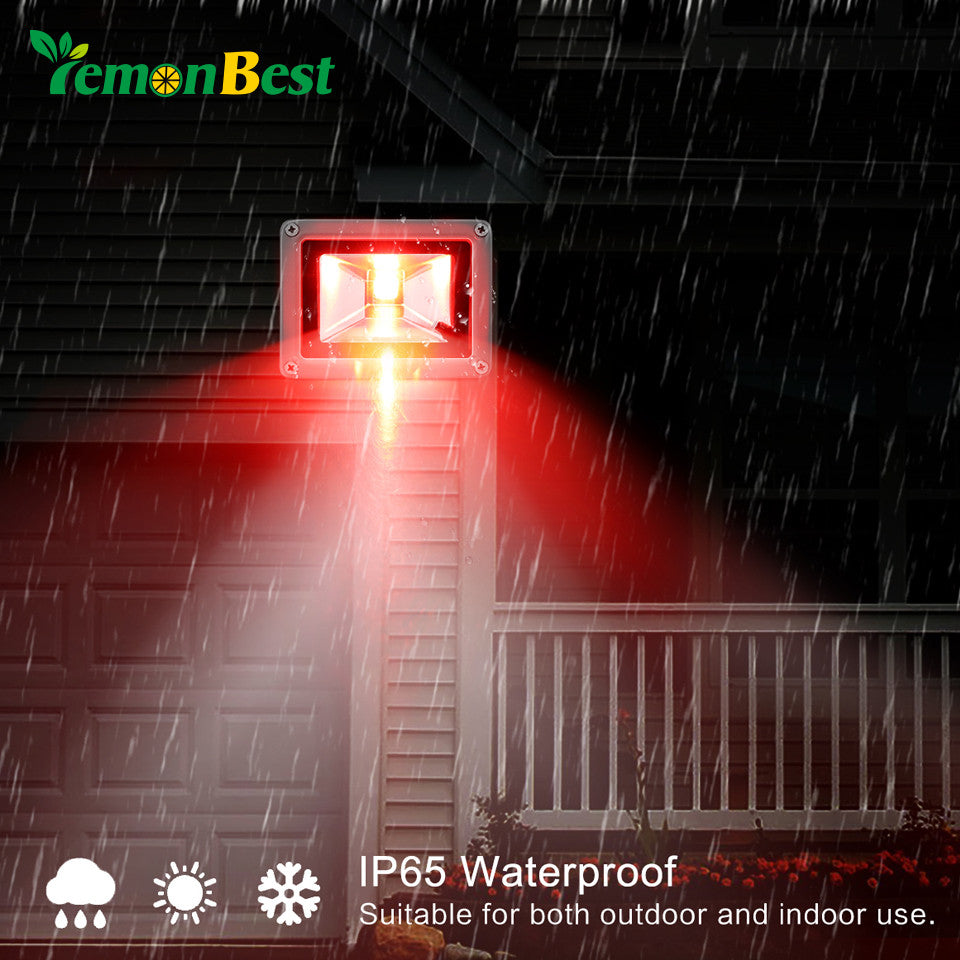 10W 20W RGB LED Flood Light Spotlight Lamp with Remote Control Waterproof IP65 for Outdoor Garden Landscape AC 85-245V Decor - sweet-casa.com