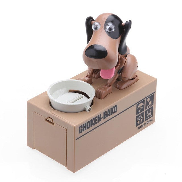 ABEDOE 1 Piece Mechanical Cute Dog Money Box Money Bank Automatic Stole Coin Piggy Bank Money Saving Box Moneybox Gifts for kids - sweet-casa.com