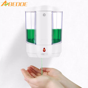 ABEDOE 800ml Automatic Soap Dispenser Touch-free  Dispenser Built-in Infrared Smart Sensor for Kitchen Bathroom soap dispenser - sweet-casa.com