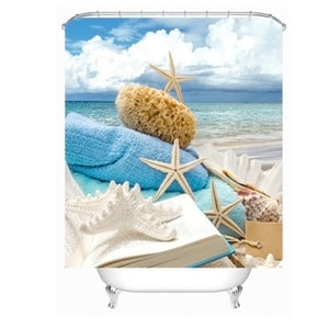 Creative Fresh Beach Yulian Waterproof And Mildew Creative Bathroom Hanging - sweet-casa.com