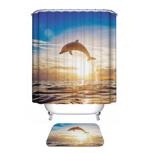 Custom Fabric Waterproof Bathroom Shower Curtain - sweet-casa.com