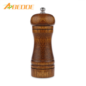 ABEDOE Pepper Grinder Wood Manual Salt Pepper Mill Grinder Seasoning Kitchen Tools Grinding for Cooking Restaurants - sweet-casa.com