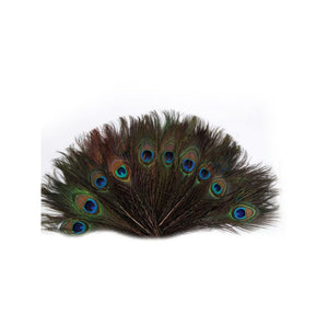 100pcs 25-30cm Beautiful Natural Peacock Tail Feathers Eyes Feathers Decorations for Craft / Art / Dress / Hats / Bridal Costume / Party - sweet-casa.com