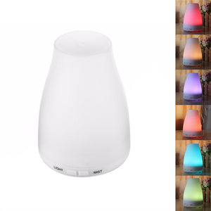 100ml Aromatherapy Essential Oil Diffuser Portable Ultrasonic Diffusers with Color LED Lights Changing and Waterless Auto Shut-off Function for Home Office Bedroom (Multicolor Light) - sweet-casa.com