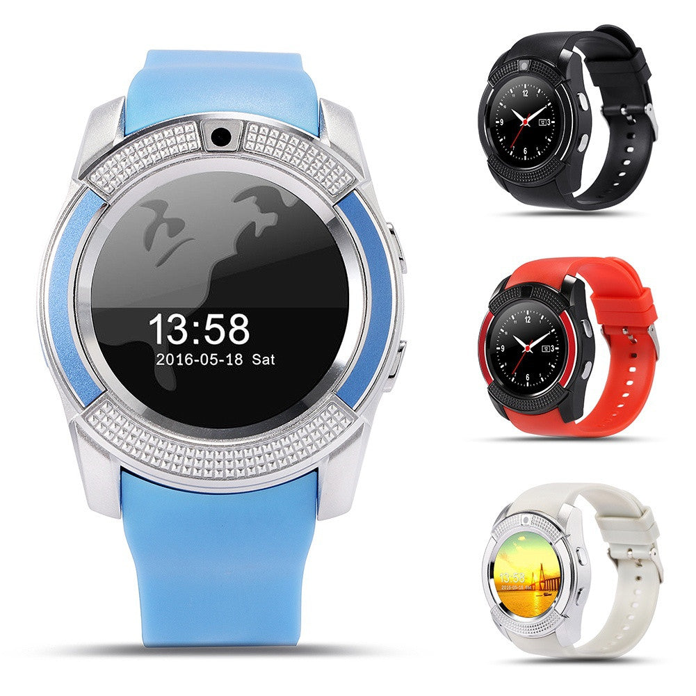 The New V8 Intelligent Men Watch Smart Watch Camera Watch - sweet-casa.com