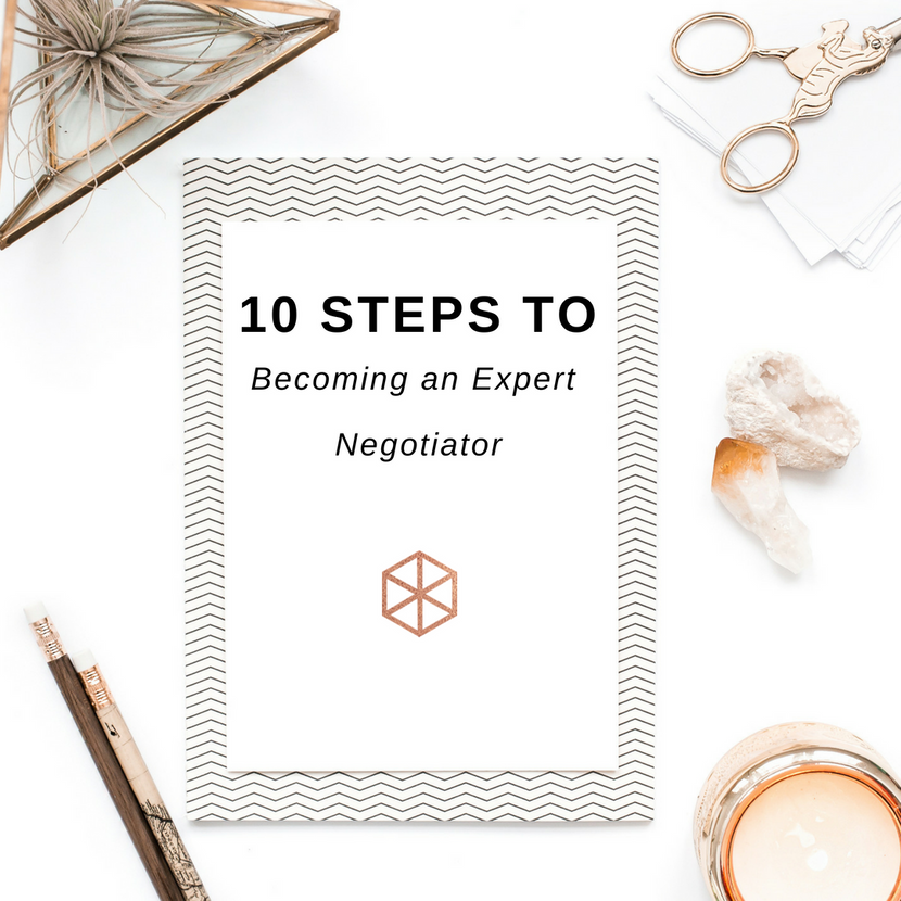 E-Book: 10 Steps to Becoming an Expert Negotiator