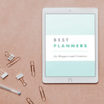 E-Book: Best Paper Planners for Bloggers and Creatives