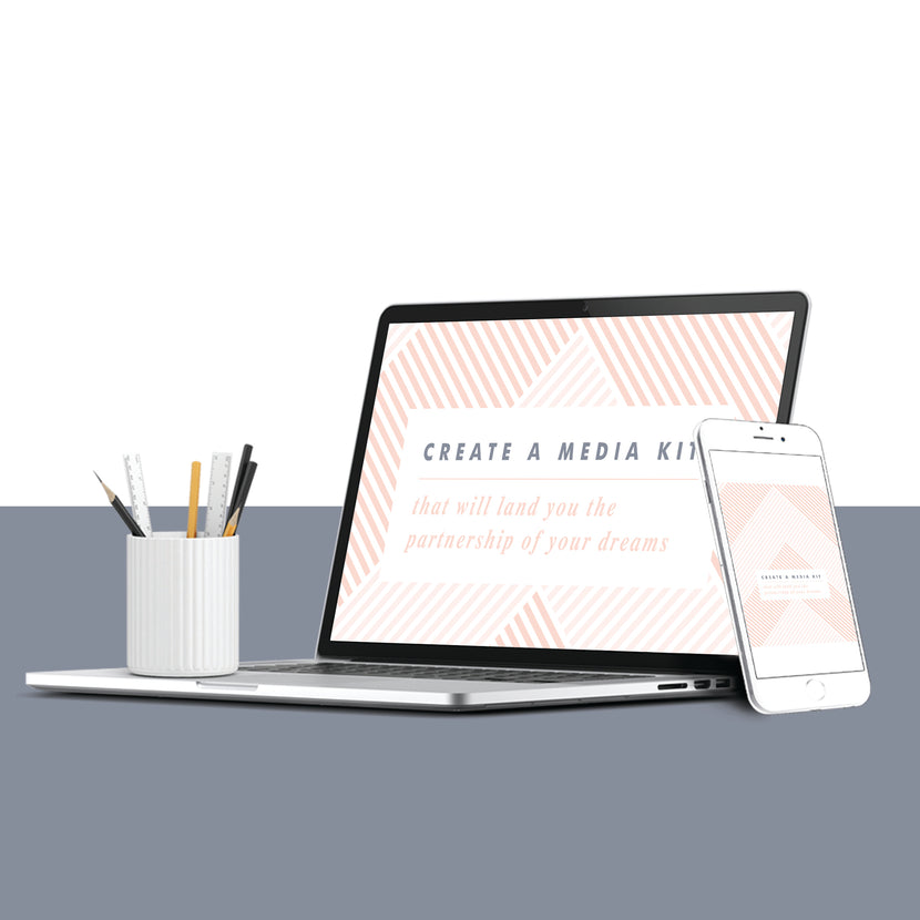 E-Book: Create a Media Kit That Will Land You the Partnership of Your Dreams