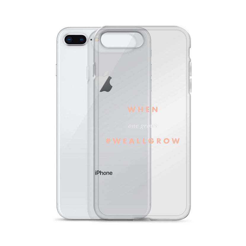 #WeAllGrow iPhone Case